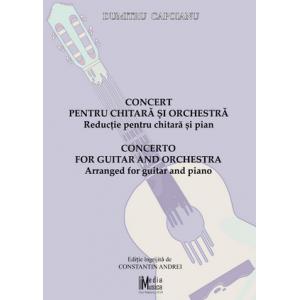 Capoianu, Dumitru Concert pentru chitară şi orchestră: reducţie pentru chitară şi pian